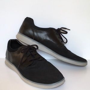 UGG HEPNER Men's Black Suede Oxford\Trainer Sz15